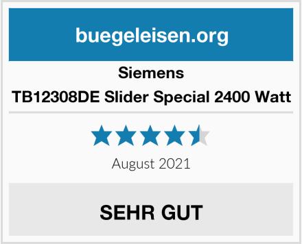 Siemens TB12308DE Slider Special 2400 Watt Test