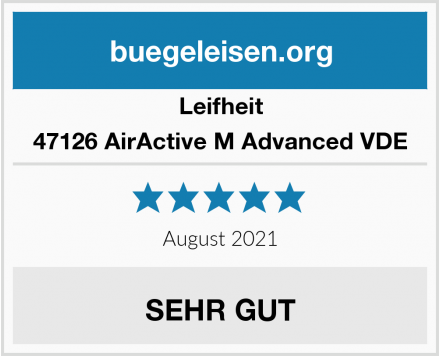 Leifheit 47126 AirActive M Advanced VDE Test