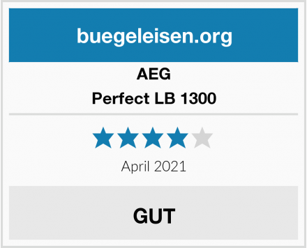 AEG Perfect LB 1300  Test