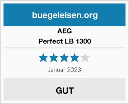 AEG Perfect LB 1300  Test