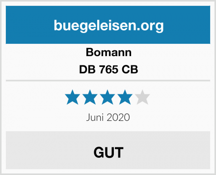 Bomann DB 765 CB Test