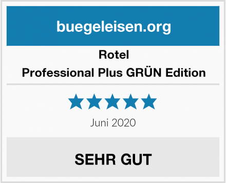 Rotel Professional Plus GRÜN Edition Test