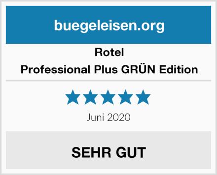Rotel Professional Plus GRÜN Edition Test