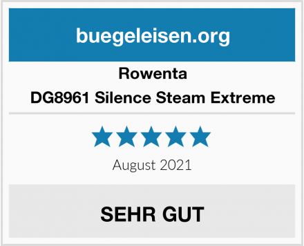 Rowenta DG8961 Silence Steam Extreme Test