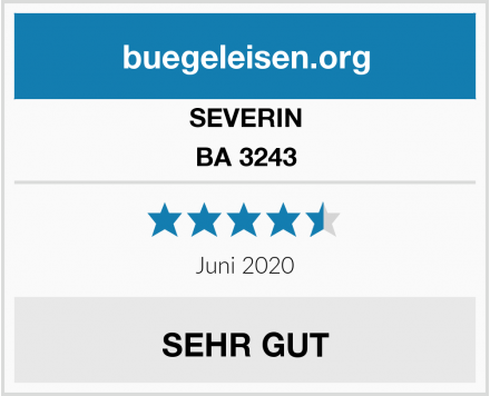 SEVERIN BA 3243 Test