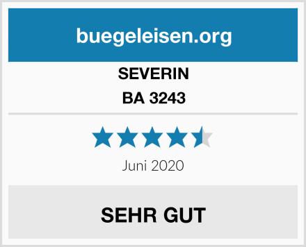SEVERIN BA 3243 Test