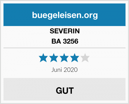 SEVERIN BA 3256 Test
