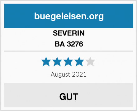 SEVERIN BA 3276 Test