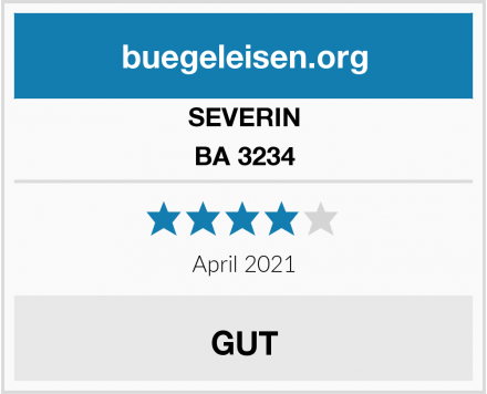 SEVERIN BA 3234 Test