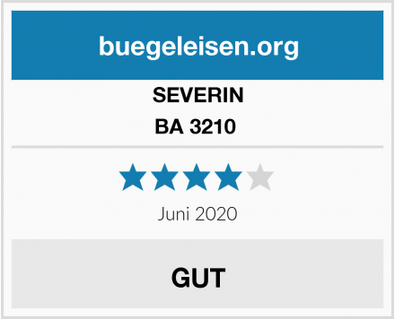 SEVERIN BA 3210  Test