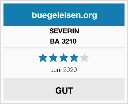 SEVERIN BA 3210  Test