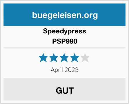 Speedypress PSP990 Test