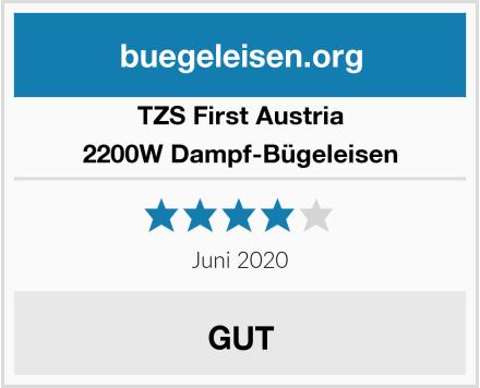 TZS First Austria  2200W Dampf-Bügeleisen Test