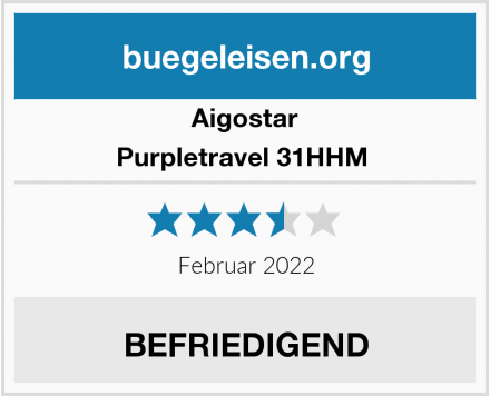 Aigostar Purpletravel 31HHM  Test