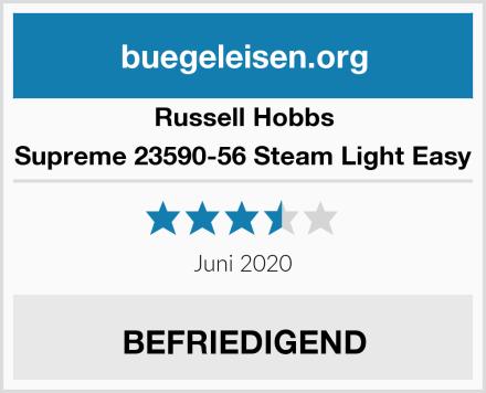Russell Hobbs Supreme 23590-56 Steam Light Easy Test