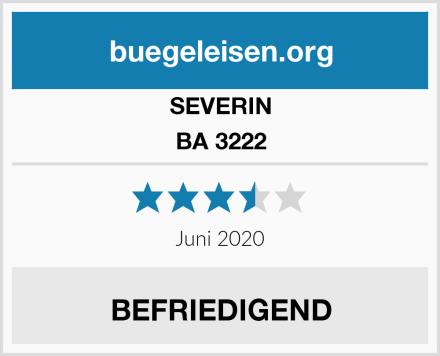 SEVERIN BA 3222 Test
