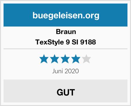Braun TexStyle 9 SI 9188 Test