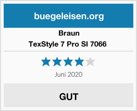 Braun TexStyle 7 Pro SI 7066  Test