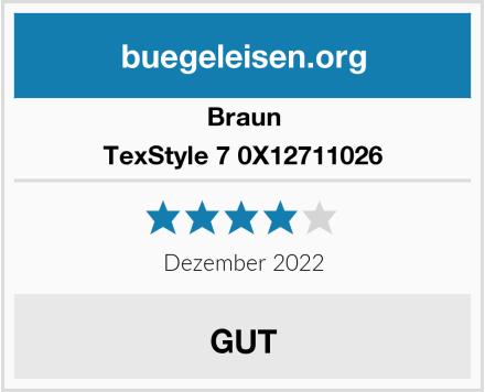 Braun TexStyle 7 0X12711026 Test