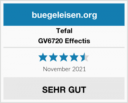 Tefal GV6720 Effectis Test
