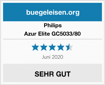 Philips Azur Elite GC5033/80 Test