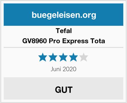 Tefal GV8960 Pro Express Tota Test