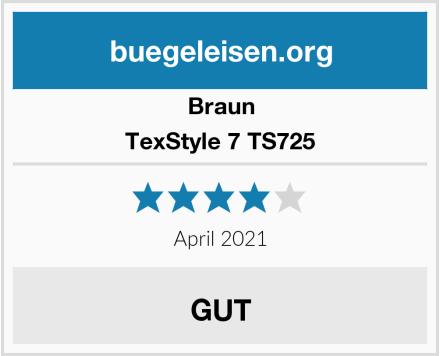 Bosch TexStyle 7 TS725 Test
