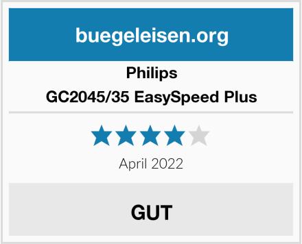 Philips GC2045/35 EasySpeed Plus Test