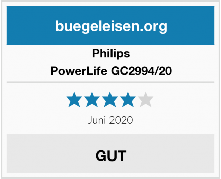 Philips PowerLife GC2994/20 Test