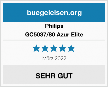 Philips GC5037/80 Azur Elite Test