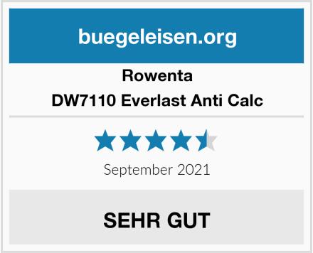 Rowenta DW7110 Everlast Anti Calc Test