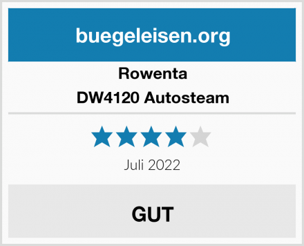 Rowenta DW4120 Autosteam Test