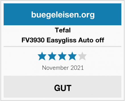 Tefal FV3930 Easygliss Auto off Test