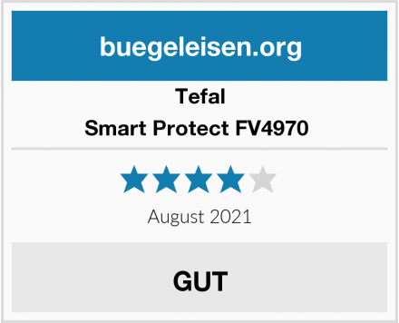 Tefal Smart Protect FV4970  Test