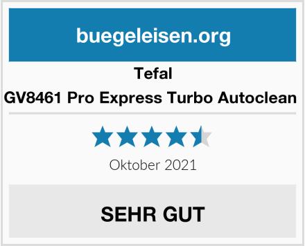 Tefal GV8461 Pro Express Turbo Autoclean  Test