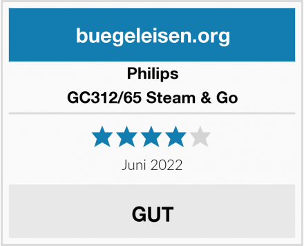 Philips GC312/65 Steam & Go Test