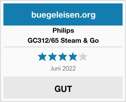 Philips GC312/65 Steam & Go Test