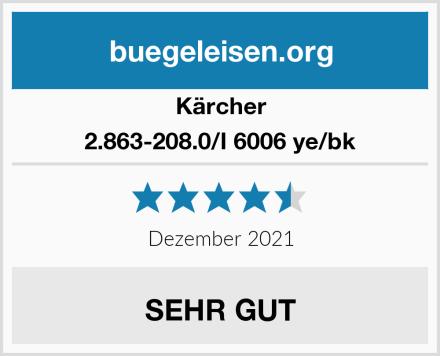 Kärcher 2.863-208.0/I 6006 ye/bk Test