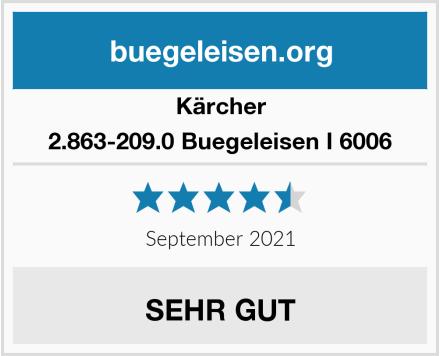 Kärcher 2.863-209.0 Buegeleisen I 6006 Test
