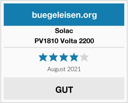 Solac PV1810 Volta 2200 Test