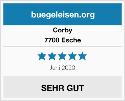 Corby 7700 Esche Test