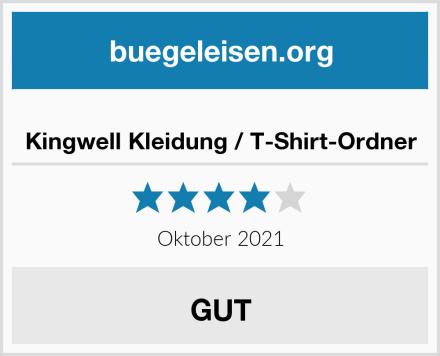 Kingwell Kleidung / T-Shirt-Ordner Test