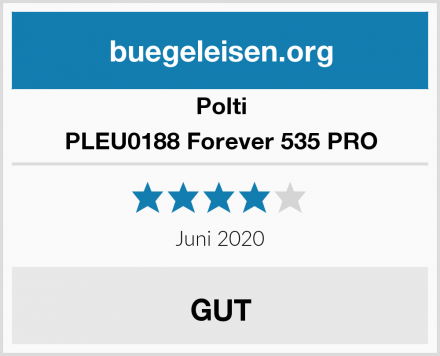 Polti PLEU0188 Forever 535 PRO Test
