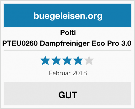 Polti PTEU0260 Dampfreiniger Eco Pro 3.0  Test