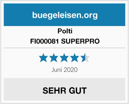 Polti FI000081 SUPERPRO Test