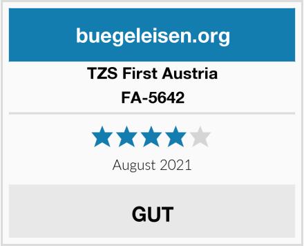 TZS First Austria FA-5642 Test