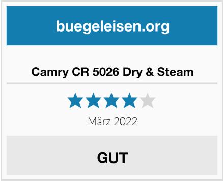 No Name Camry CR 5026 Dry & Steam Test