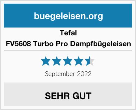 Tefal FV5608 Turbo Pro Dampfbügeleisen Test