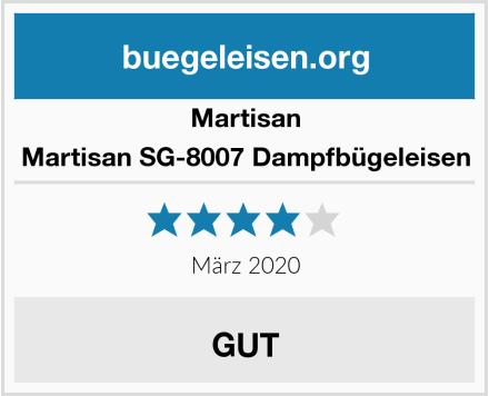 Martisan Martisan SG-8007 Dampfbügeleisen Test