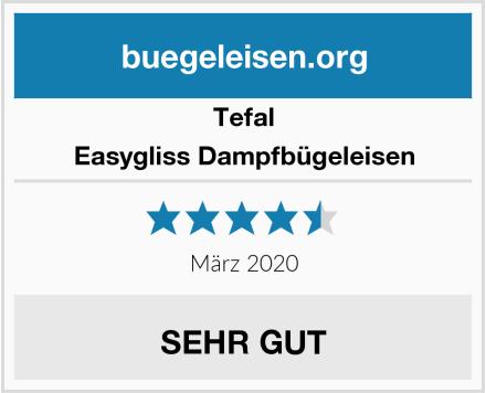 Tefal Easygliss Dampfbügeleisen Test